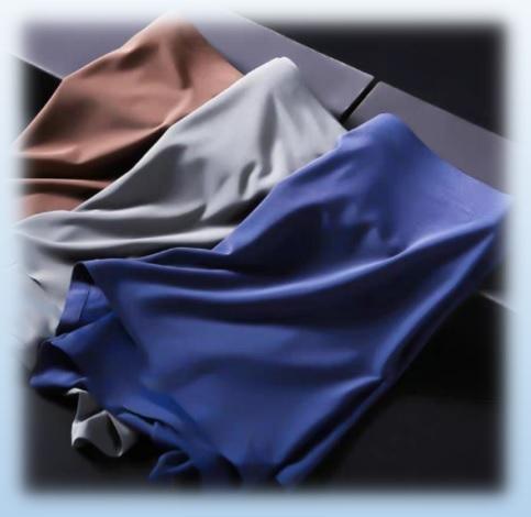 ボクサーパンツ メンズ シームレス 高級 肌にぴったり 2枚組 色=(灰×灰) 約 Mサイズ(表記=XLサイズ) 3D立体 蒸れない 新品