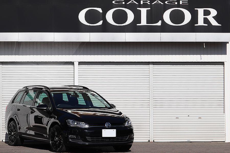 「【 1オーナー 】 2014y VW ゴルフ ヴァリアント TSI コンフォートライン ブルーモーション OZ18AW」の画像1