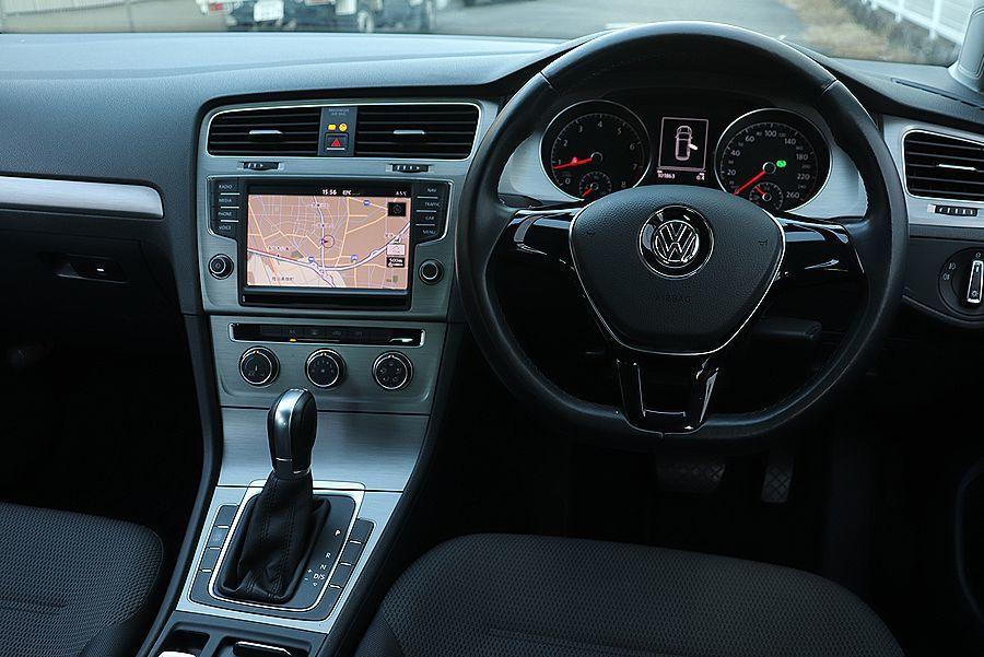 【 1オーナー 】 2014y VW ゴルフ ヴァリアント TSI コンフォートライン ブルーモーション OZ18AW 検R5/6_純正メモリーナビ DVD 地デジ Bカメラ