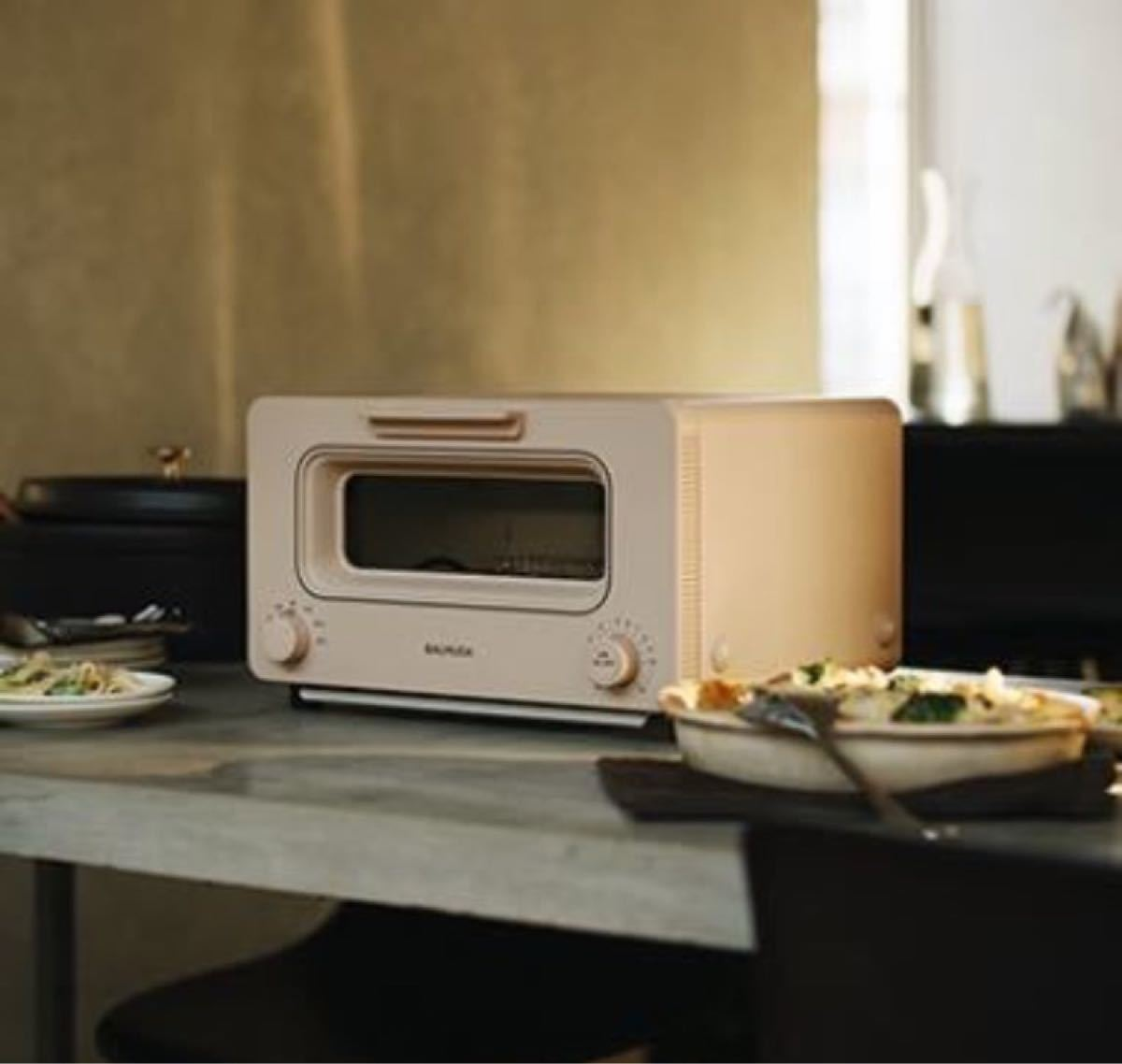バルミューダスチームトースターThe Toaster K05A-BG (ベージュ )BALMUDA