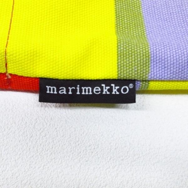 ★着物10★ 1円 marimekko マリメッコ トートバッグ エコバッグにも カラフル レディース ブランド品 [同梱可] ☆☆_画像3