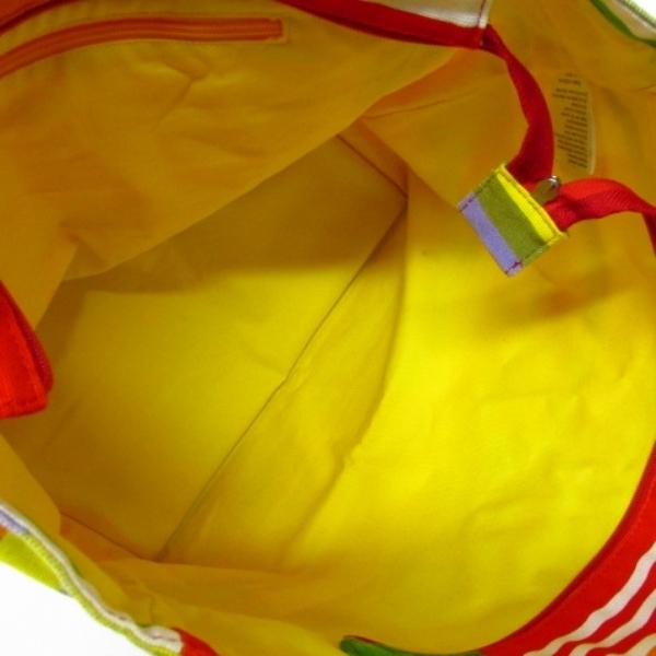 ★着物10★ 1円 marimekko マリメッコ トートバッグ エコバッグにも カラフル レディース ブランド品 [同梱可] ☆☆_画像9