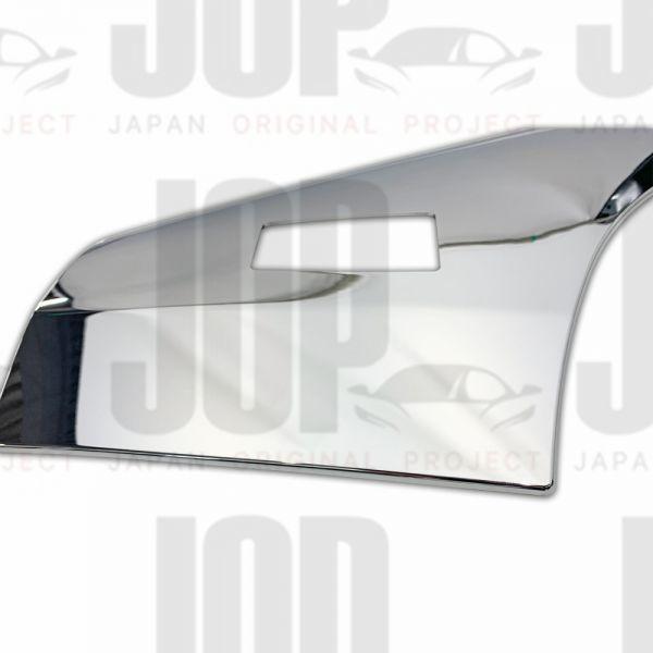 日野 デュトロ H11.4~ ダイナ トヨエース メッキ フェンダー ガーニッシュ パネル カバー プロテクター 標準 新品_画像2