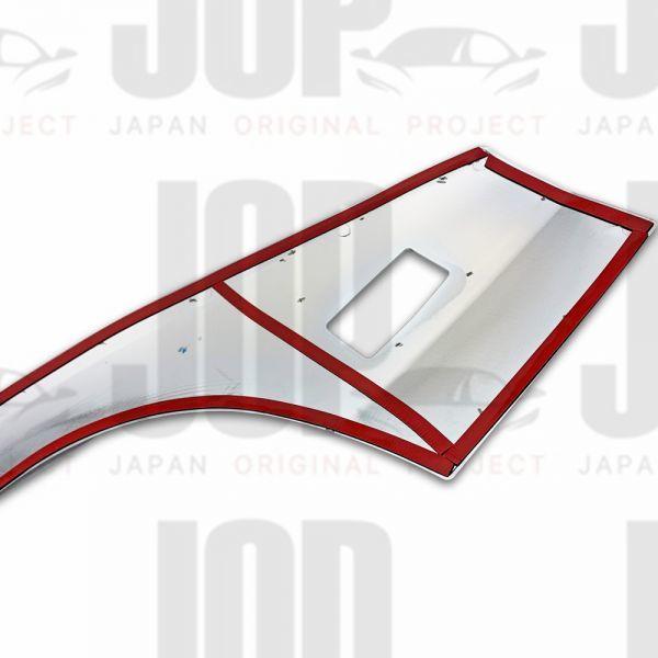 日野 デュトロ H11.4~ ダイナ トヨエース メッキ フェンダー ガーニッシュ パネル カバー プロテクター 標準 新品_画像5