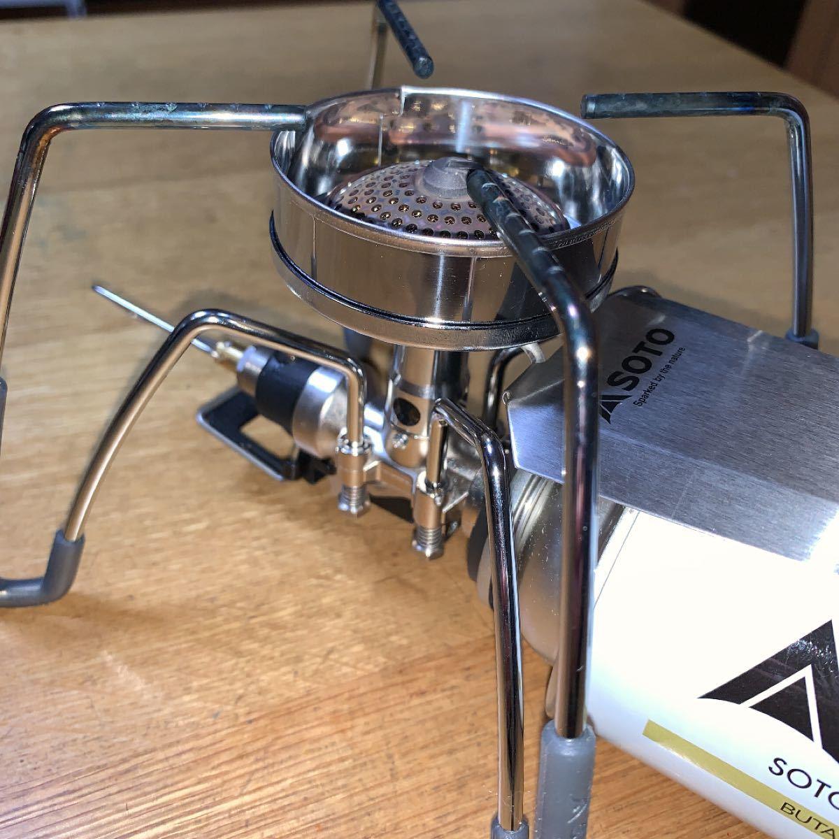 シングルバーナーST-310用「風防」&ブッシュクラフト麻袋 新品