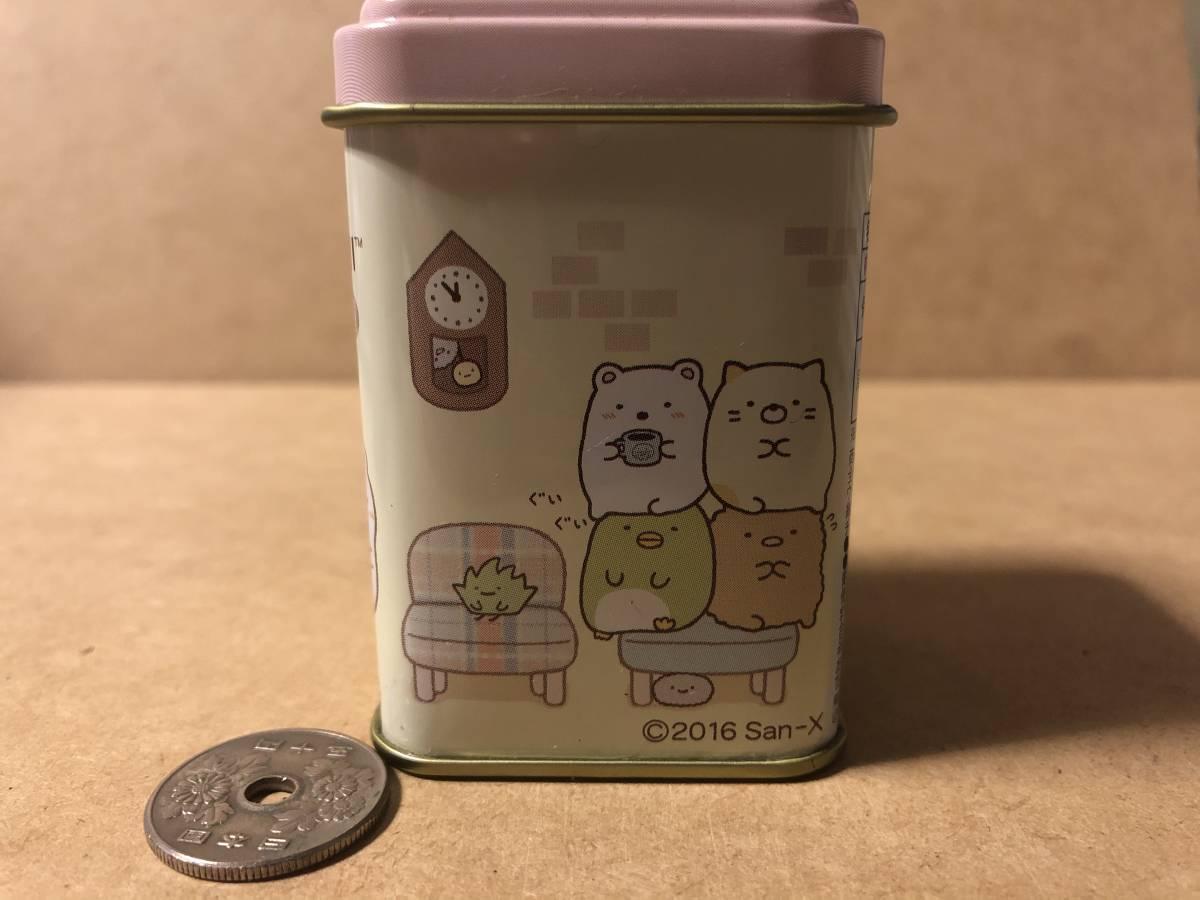 すみっコぐらし 喫茶すみっコ スクエアミニチロル缶【A】_画像3
