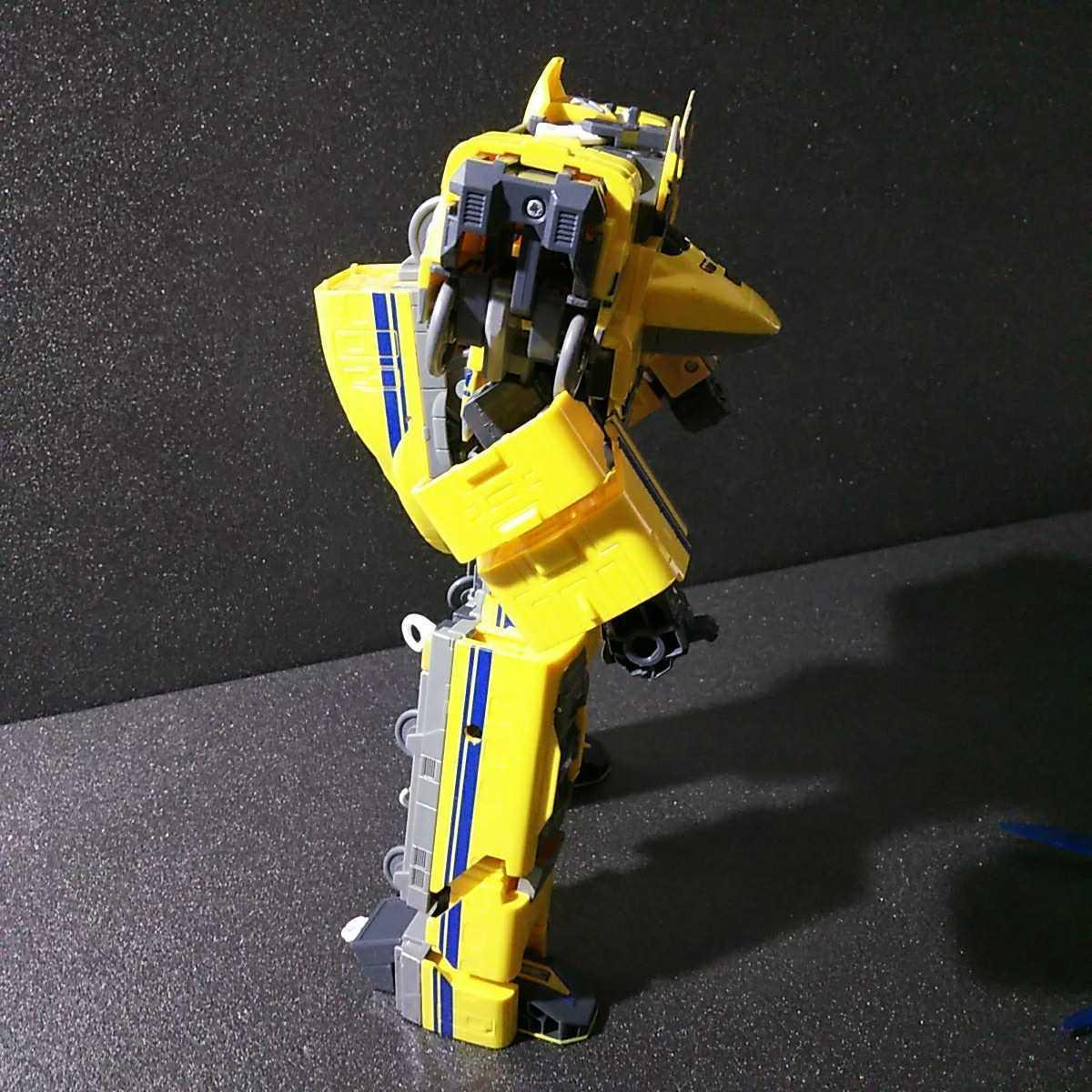 ● 新幹線変形ロボ シンカリオン「ドクターイエロー 1体」プラレール_画像4