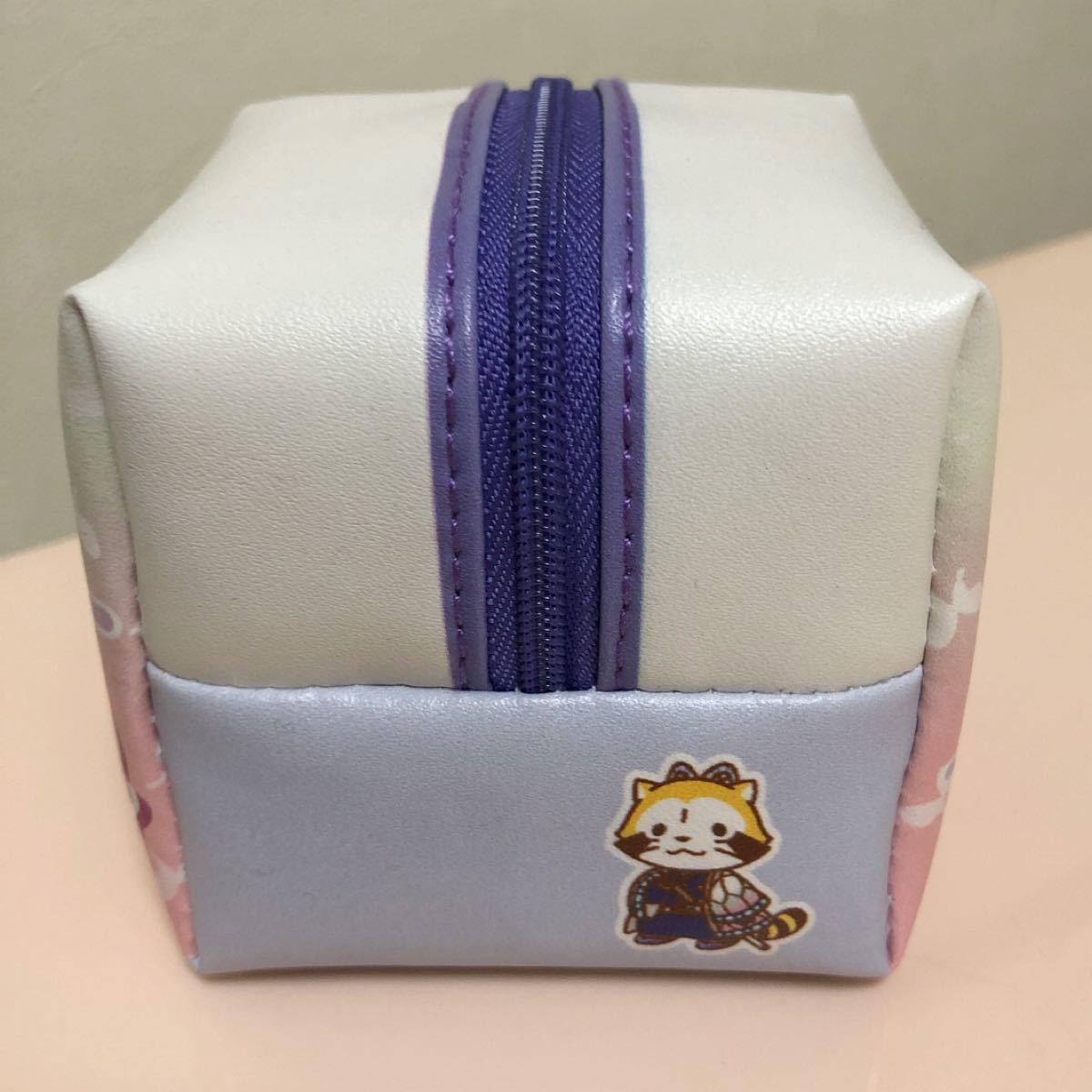 鬼滅の刃×ラスカル コラボ キューブ型ポーチ(胡蝶しのぶ)