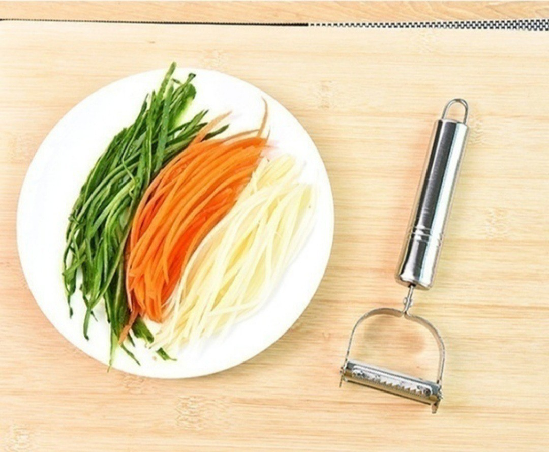 ピーラー スライサー ステンレス 調理器具 キッチン用品 2in1