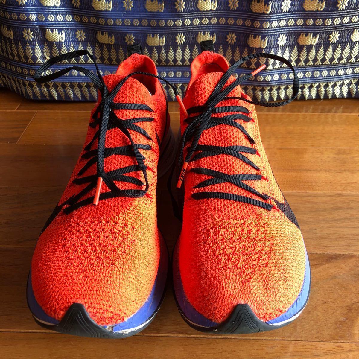 ナイキNike  ヴェイパーフライ 4% オレンジ / ブラック メンズ25.5cm