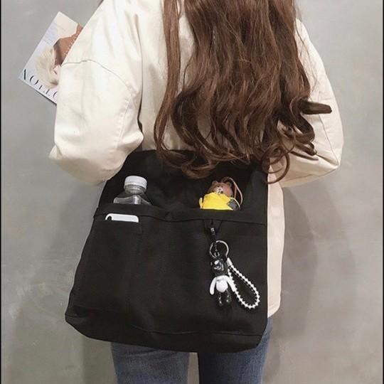 レディースバッグ トートバッグ ショルダーバッグ キャンバスバッグ ブラック メンズバッグ バッグ マザーズバッグ