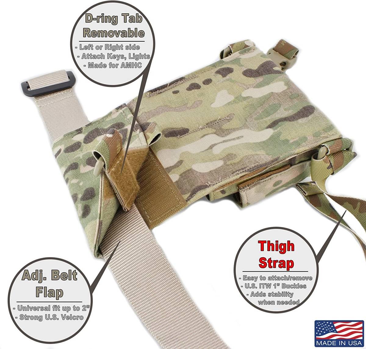 激レア 実物 USTS Adaptive Range Caddy 米軍 特殊部隊 タクティカル マガジン ポーチ ホルスター CRYE EAGLE LBT HSGI_画像6