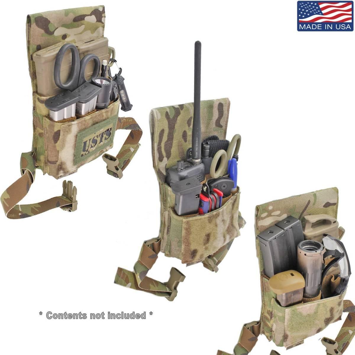 激レア 実物 USTS Adaptive Range Caddy 米軍 特殊部隊 タクティカル マガジン ポーチ ホルスター CRYE EAGLE LBT HSGI_画像2