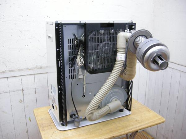 整備済み・2016年製・コロナ・FF式温風石油ストーブ・FF-VG3515S・中古品・143870_画像7