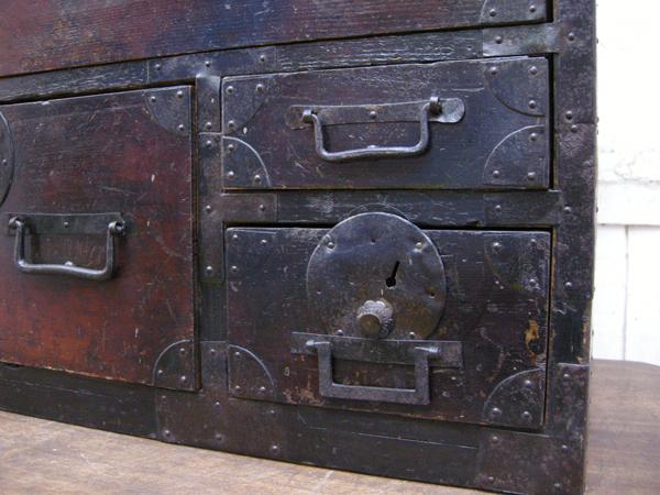 時代・小箪笥・枕箪笥・古民具・骨董・タンス・明治・大正・143898_画像5
