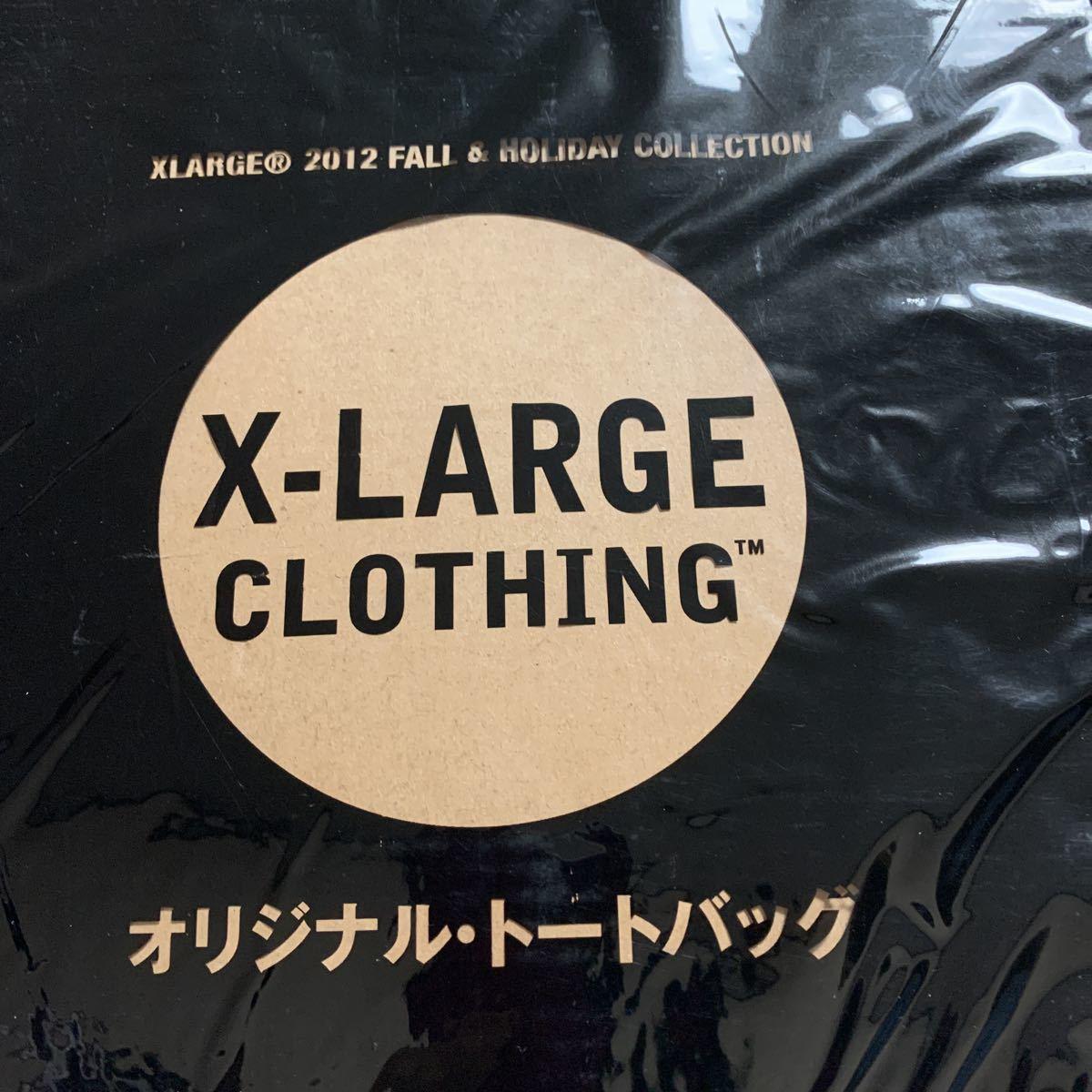 WARP MAGAZINE JAPAN11月号増刊特別付録 X-LARGE CLOTHING オリジナルトートバッグ_画像1