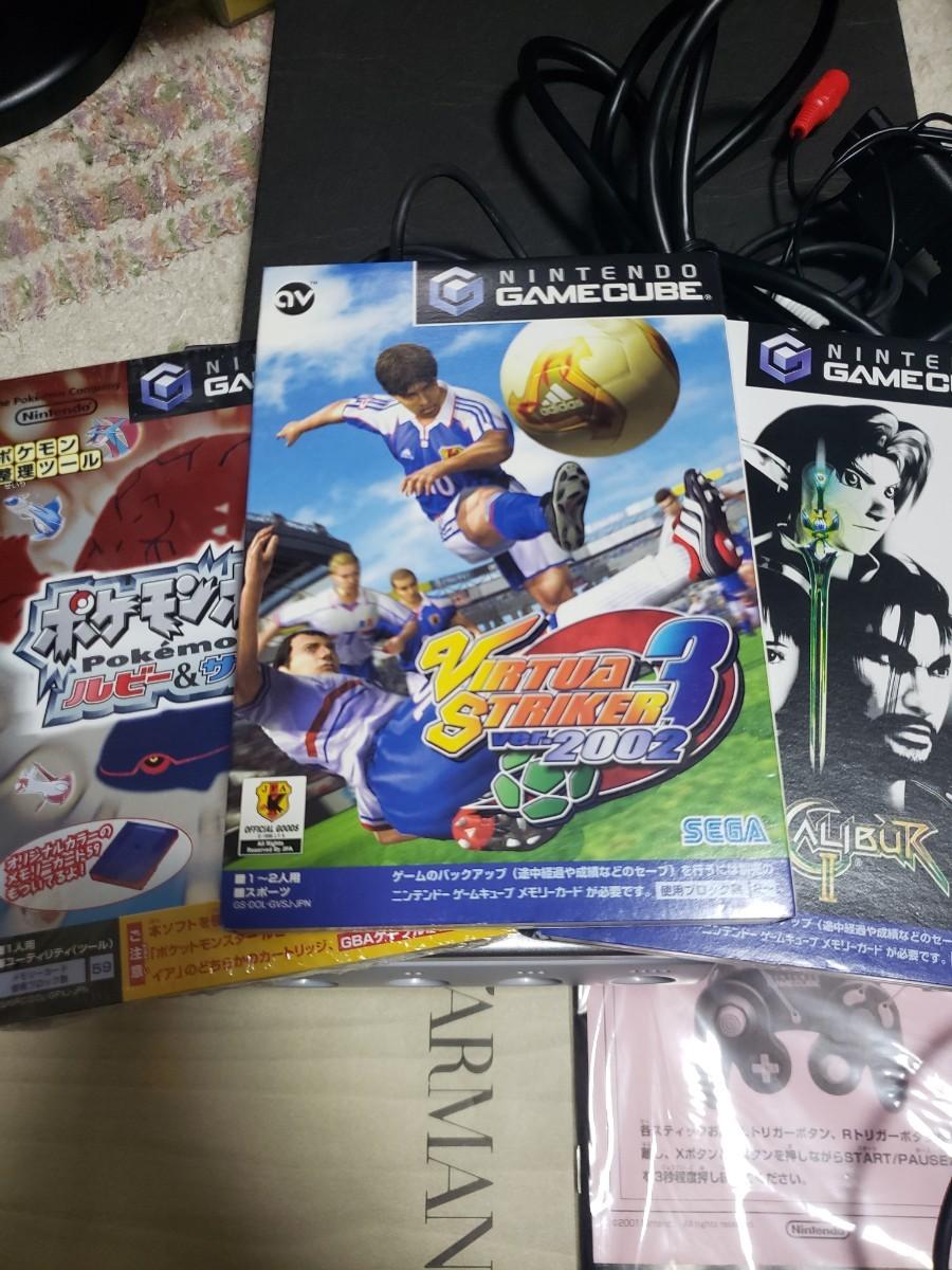 ゲームキューブ 任天堂 本体  ソフト コントローラー セット  ポケモン サッカー ソウル