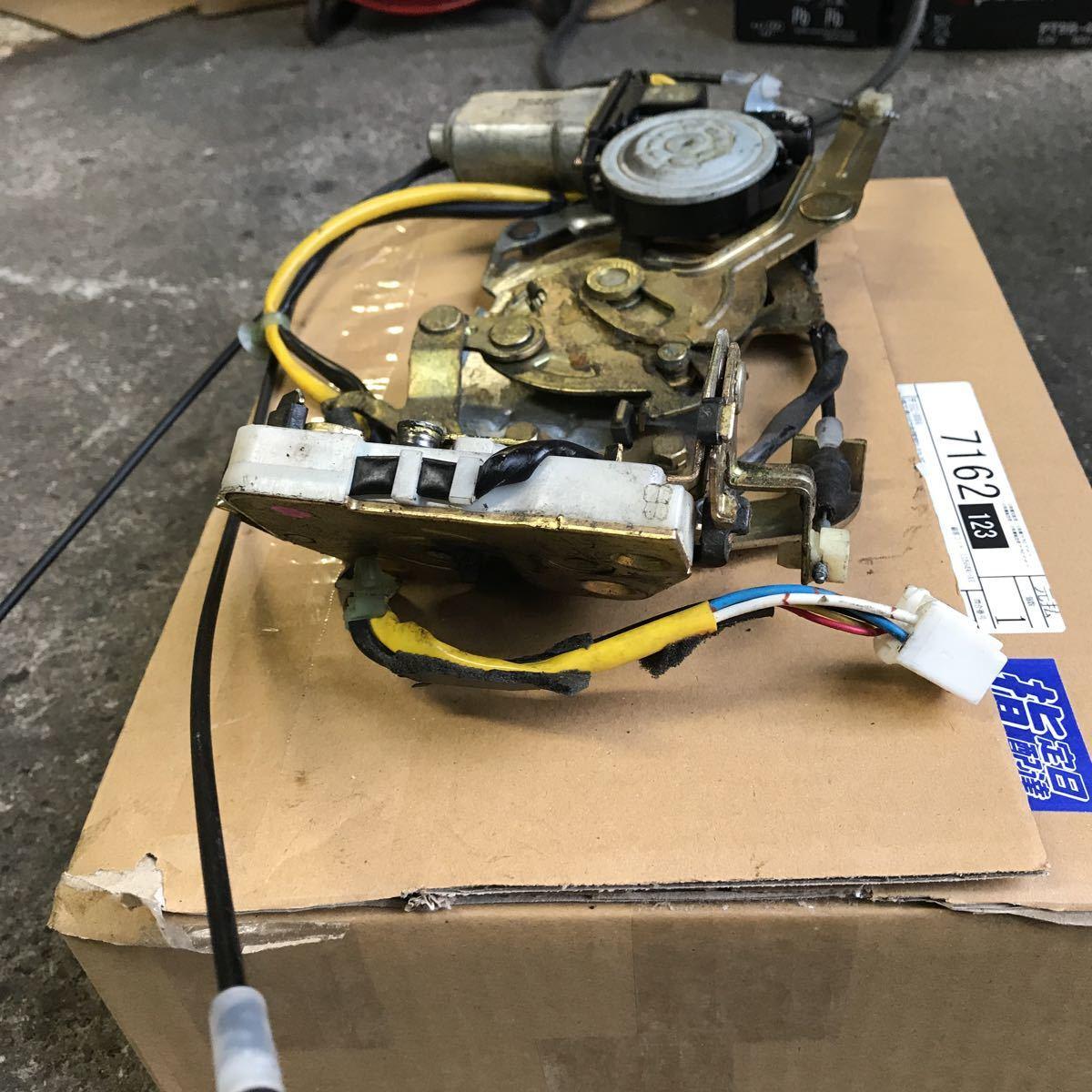 マツダ MPV LW3W 右スライド 右リア イージークローザー ドアロック アクチュエーター オートロック ソレノイド LD52-72-310_画像6