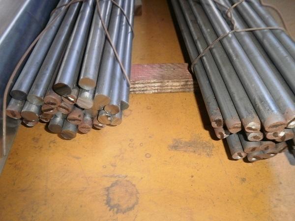 鉄 黒皮 丸棒鋼(SS400)普通鋼材 各外径品の(1000~100mm)各定寸長さでの販売F31_画像3