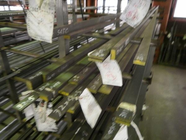 鉄 みがき平角棒・フラットバー(S45C)ハガネ材 各形状 (1000~100mm)各定寸長での販売F31_画像2