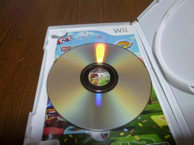 N4【即日配送 送料無料 動作確認済】Wiiソフト マリオパーティー8(クリーニング済)