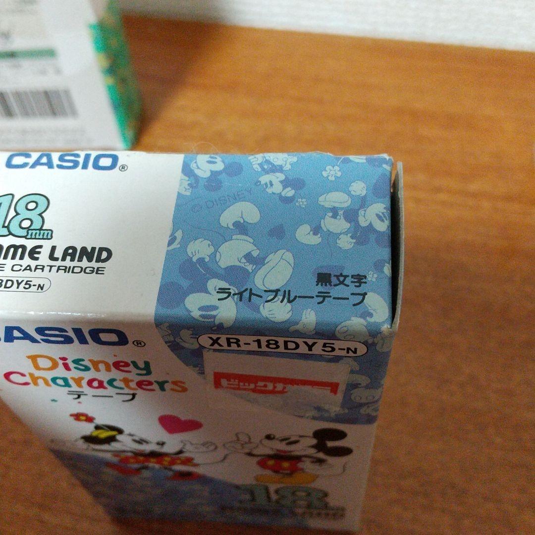 CASIO ネームランド テープカートリッジ ディズニー ミッキー