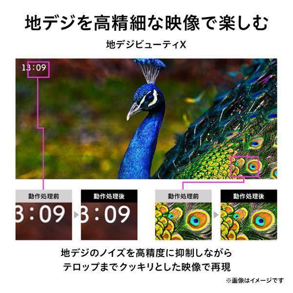 ★即決★新品大特価★東芝 REGZA 50V型 (4K対応/4Kダブルチューナー内蔵) 50M540X 地上・BS・110度CSデジタルハイビジョン液晶テレビ_画像4