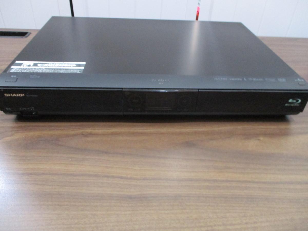 ◇動作品 SHARP AQUOS シャープ ブルーレイ ディスク レコーダー 320GB BD-HDS53 リモコン付き◇_画像2