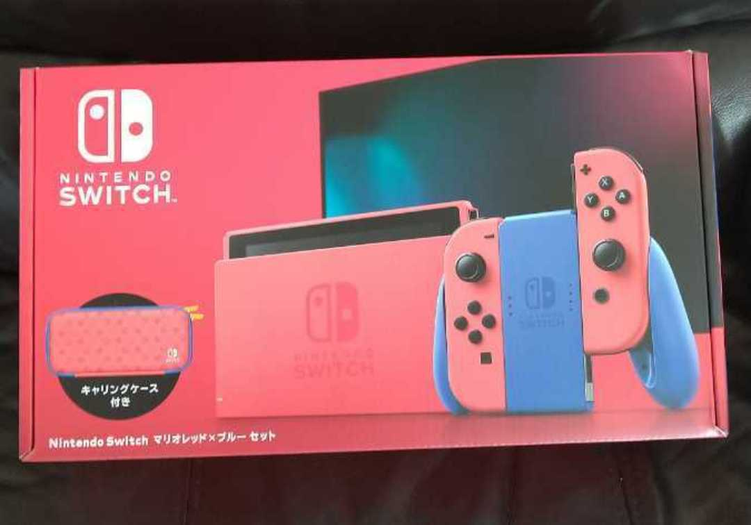 ※商品説明必読※ 新品未開封 Nintendo Switch ニンテンドースイッチ 本体 マリオ