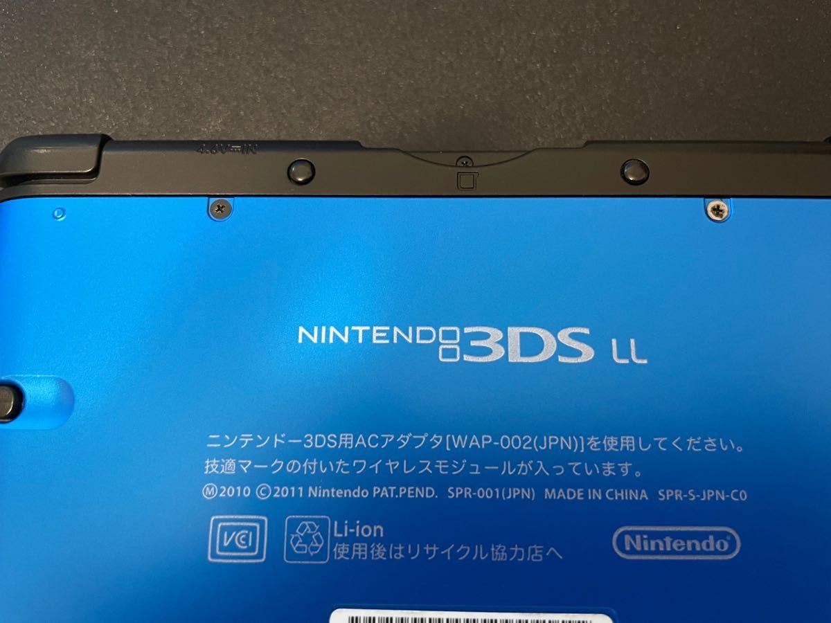 ニンテンドー3DS LL ブルーブラック