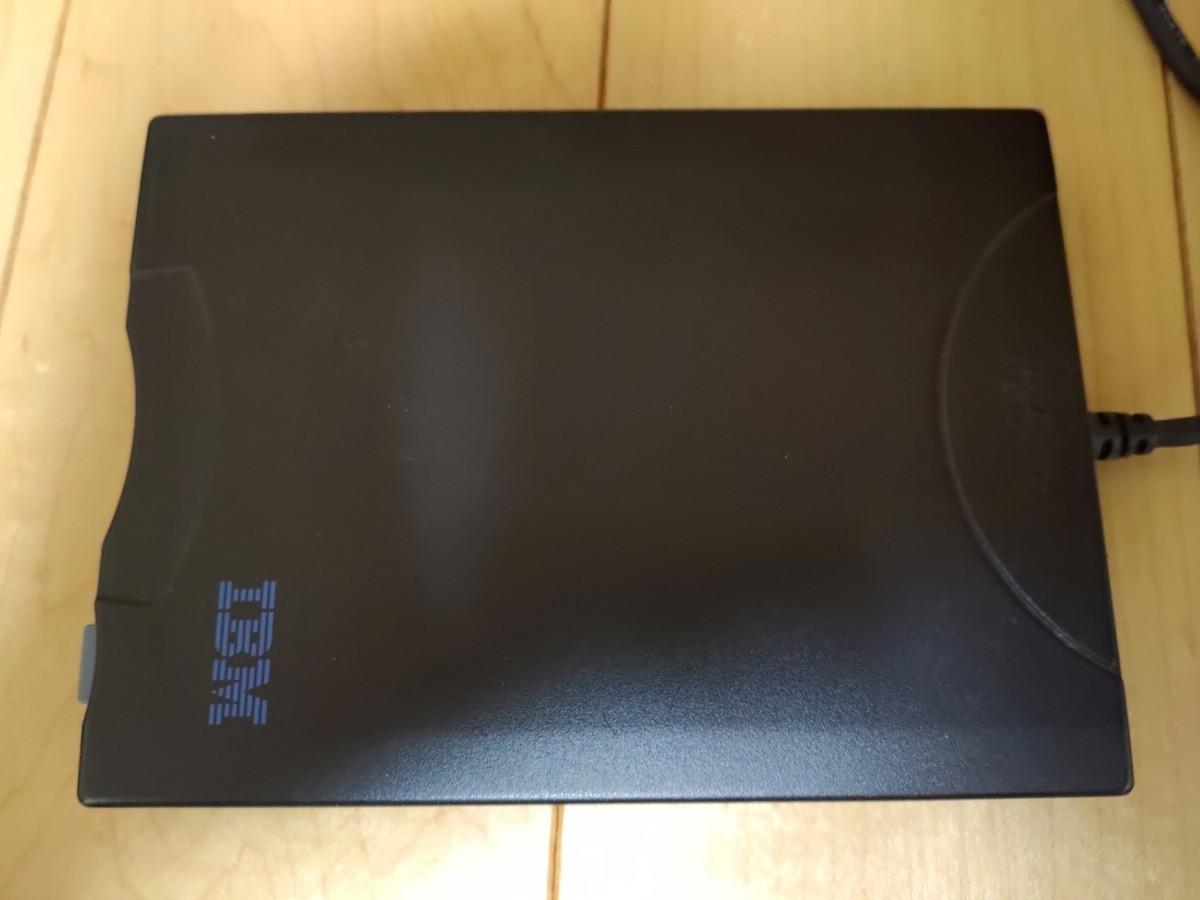 フロッピーディスクドライブ USB IBM