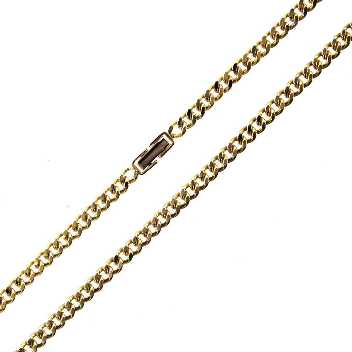 K18 18金 ゴールド 喜平 2面 ネックレス チェーン 66cm 41.3g KA 磨き仕上げ品 Aランク_画像1