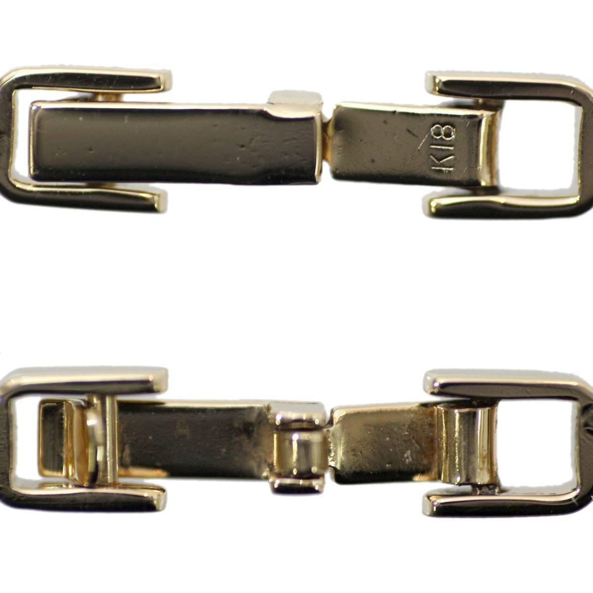 K18 18金 ゴールド 喜平 2面 ネックレス チェーン 66cm 41.3g KA 磨き仕上げ品 Aランク_画像6