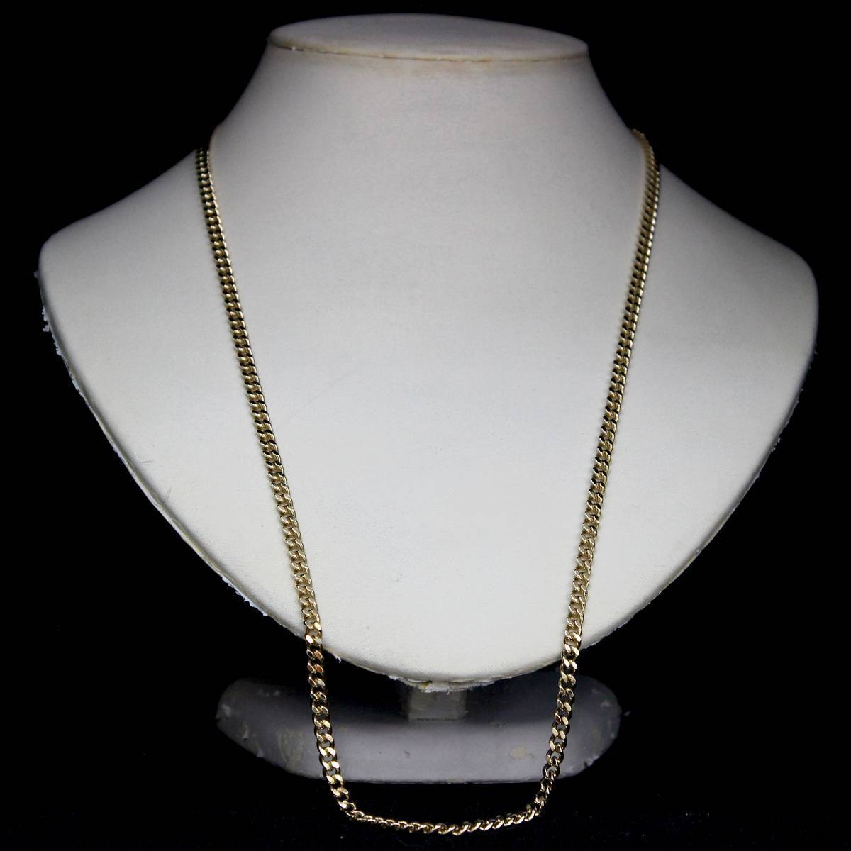 K18 18金 ゴールド 喜平 2面 ネックレス チェーン 66cm 41.3g KA 磨き仕上げ品 Aランク_画像4