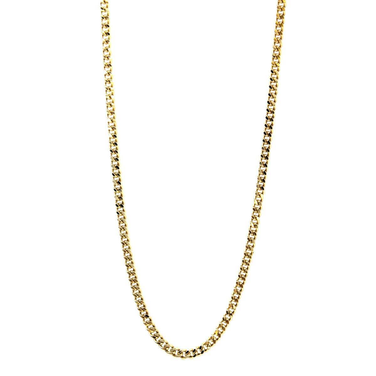 K18 18金 ゴールド 喜平 2面 ネックレス チェーン 66cm 41.3g KA 磨き仕上げ品 Aランク_画像2
