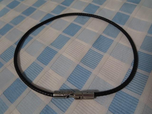 phiten titanium ネックレス 40cm_画像1