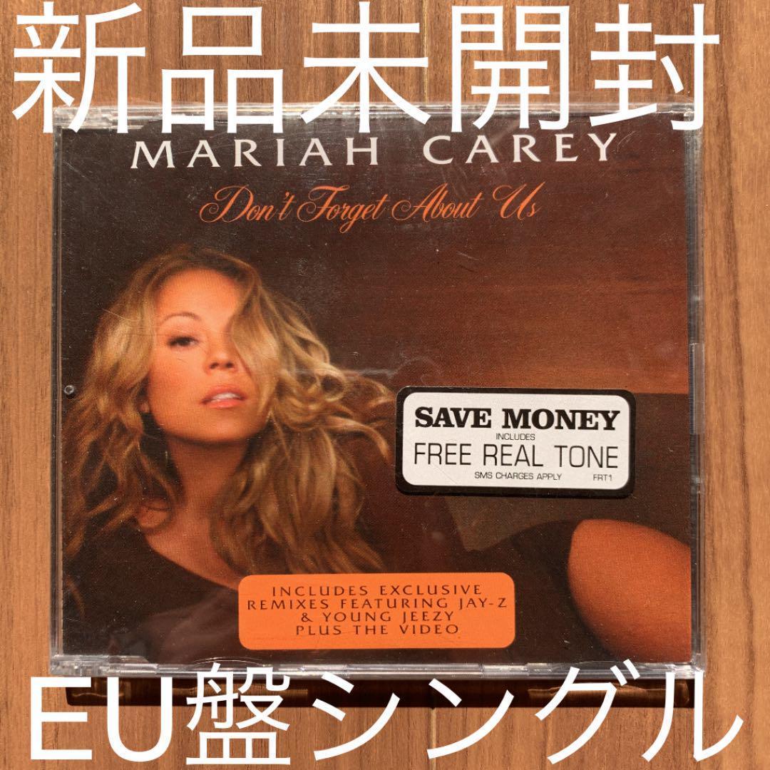 Mariah Carey マライア・キャリー Don't Forget About Us EU盤シングル 新品未開封