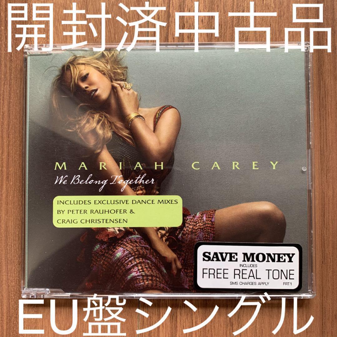 Mariah Carey マライア・キャリー We belong together ウィ・ビロング・トゥゲザー EU盤シングル