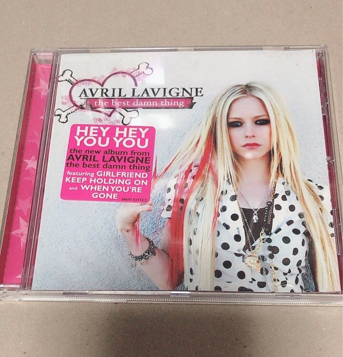 「THE BEST DAMN THING」AVRIL LAVIGNE