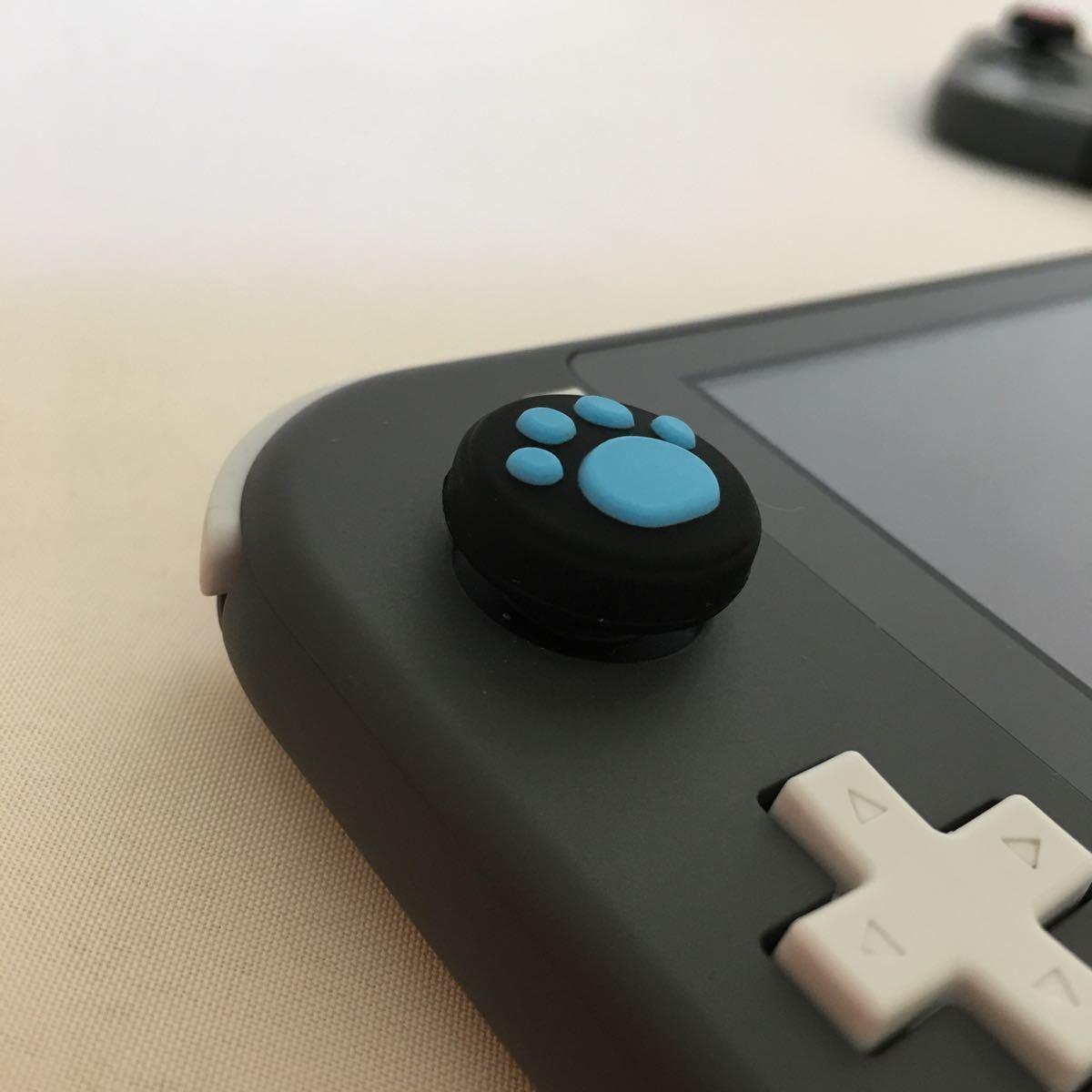 Nintendo Switch ニンテンドー スイッチ ジョイコン スティックカバー 肉球 2個セット