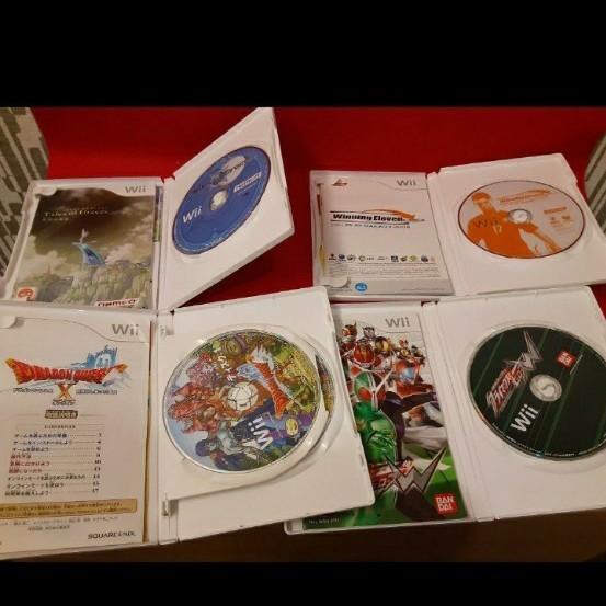 任天堂 wii リモコン2つとソフト4本セット