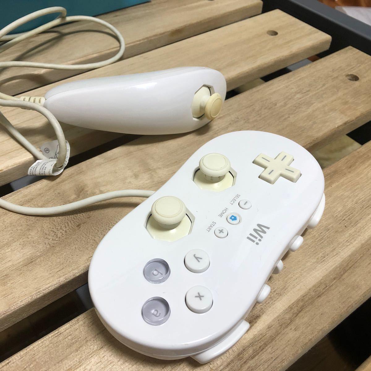 Wii本体 Wiiリモコン2つ付き Nintendo 任天堂