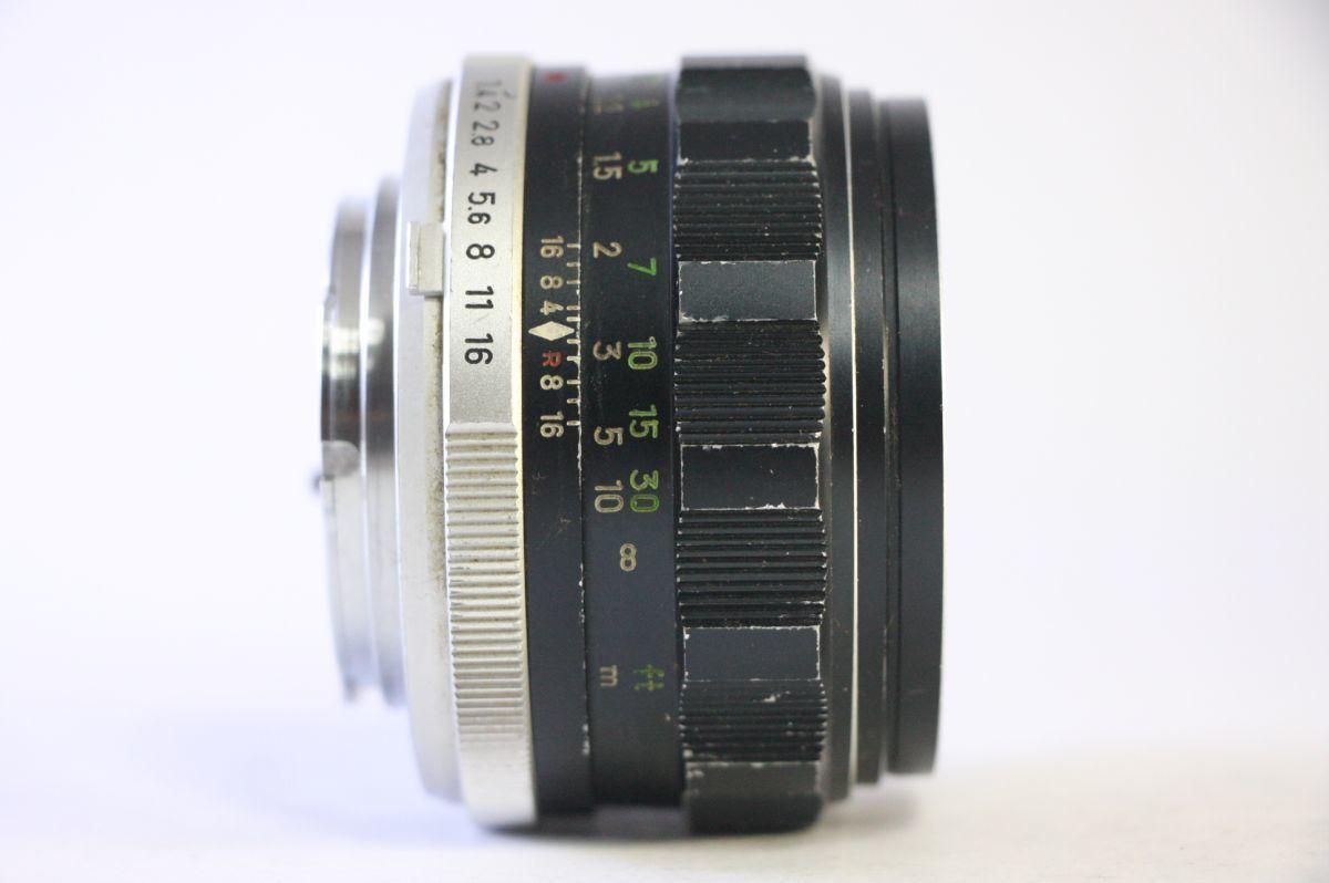 ミノルタ MINOLTA MC ROKKOR-PF 58mm F1.4★うすくもり★A53_画像2