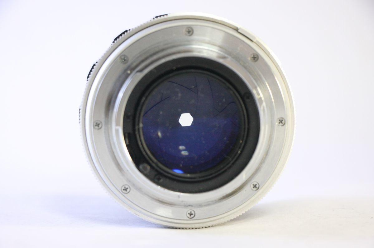 ミノルタ MINOLTA MC ROKKOR-PF 58mm F1.4★うすくもり★A53_画像3