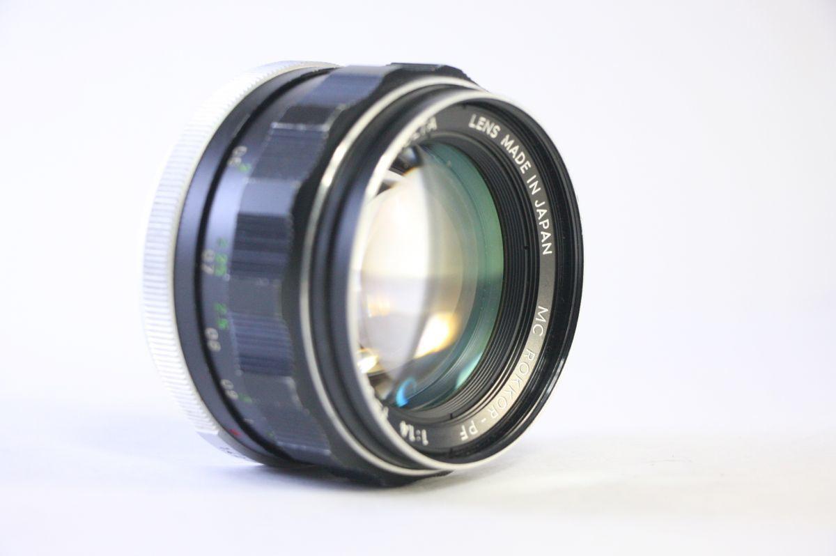 ミノルタ MINOLTA MC ROKKOR-PF 58mm F1.4★うすくもり★A53_画像1