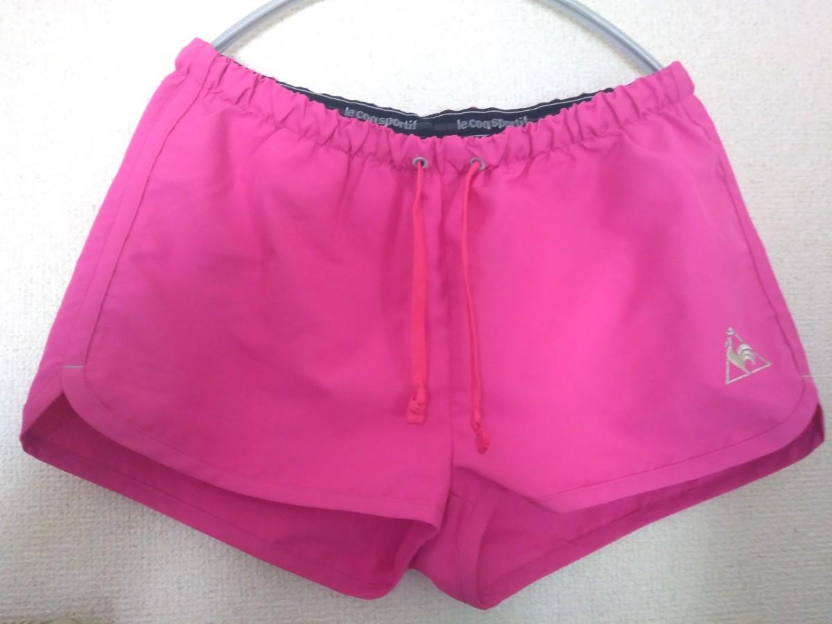 le coq sportif ランニング ショーツ ショートパンツ ピンク ショートパンツ