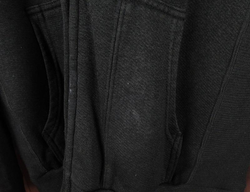 LAWKHW5981 CHROME HEARTS×Matty Boy クロムハーツ マッティボーイ ダガージップ スウェットパーカー M 黒 美品_画像4