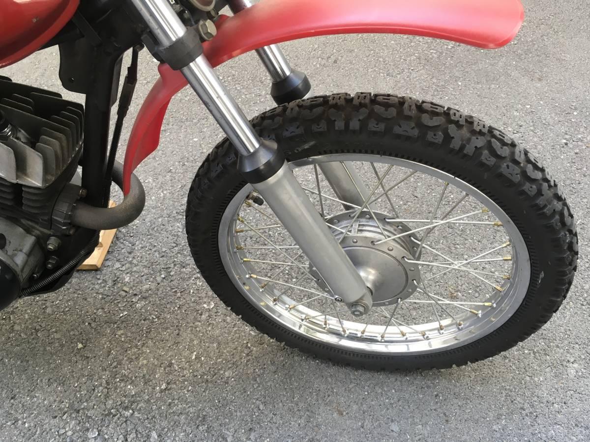 カワサキ KM90 実働 新車購入 KM100 バイソン セカンドバイク  走行5000キロ_画像3