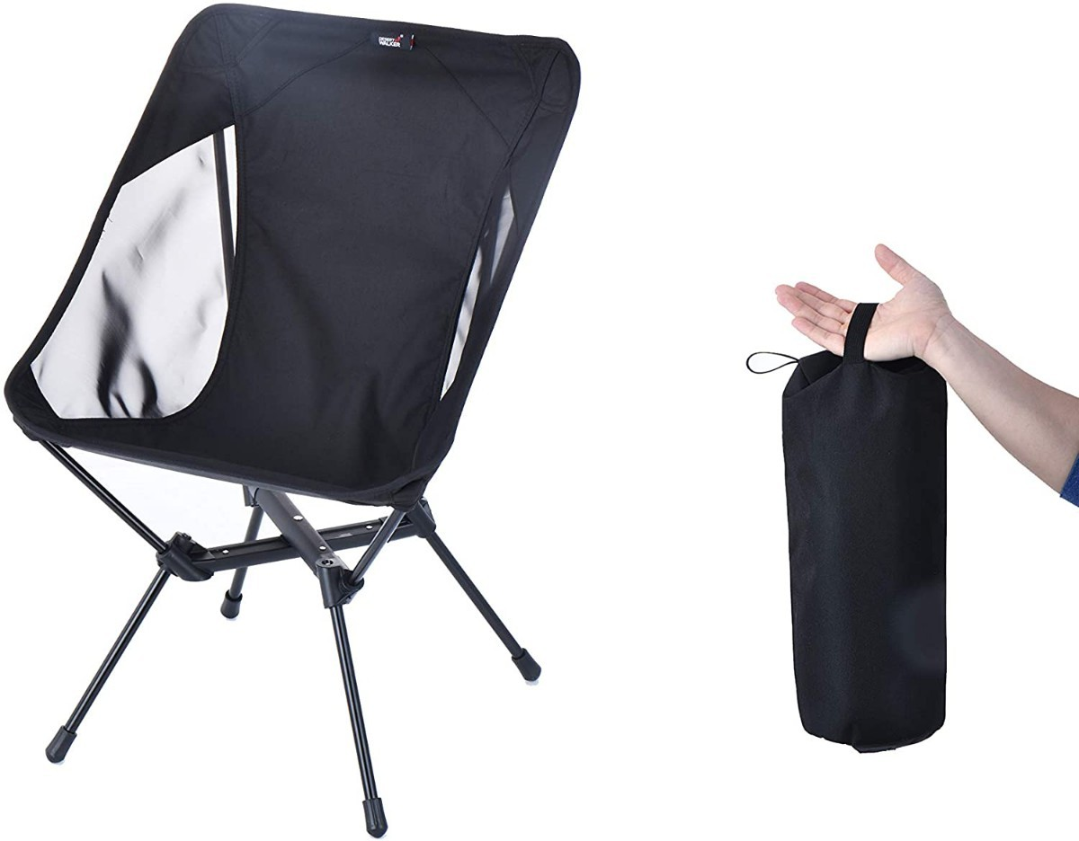 キャンプ椅子 カラー:ブラック