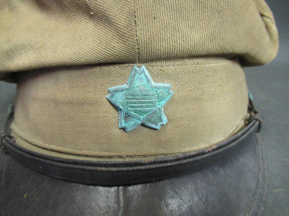【広吉堂】大日本帝国 旧日本軍 国民帽 軍隊 帽子 当時物_画像2
